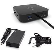 i-tec USB-C Dual Display Docking Station s Power Delivery 65W + i-tec Universal Charger 77 W - Dokkoló állomás