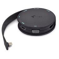 i-tec USB-C Pocket Dock 4K HDMI/VGA, Power Delivery - Dokkoló állomás