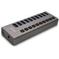 I-TEC 10 portos 3.0 USB töltő 48 W hálozati adapterrel - USB Hub