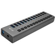 I-TEC USB 3.0 töltő HUB 13port + tápegység 60 W - USB Hub