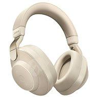 Jabra Elite 85H, bézs arany - Fej-/fülhallgató