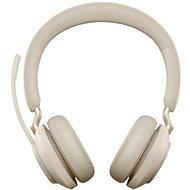 Jabra Evolve2 65 MS Stereo USB-A Beige - Vezeték nélküli fül-/fejhallgató