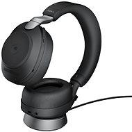 Jabra Evolve2 85 MS Stereo USB-C Stand Black - Vezeték nélküli fül-/fejhallgató
