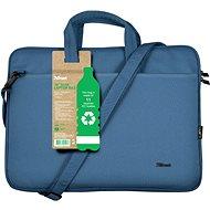 """Trust Bologna Laptop táska 16"""" ECO - kék - Laptoptáska"""