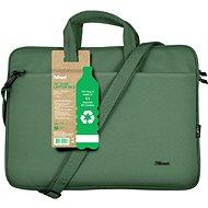 """Trust Bologna laptop táska 16"""" ECO - zöld - Laptoptáska"""
