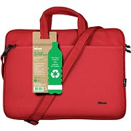 "Trust Bologna Laptop Bag 16"" ECO - piros - Laptoptáska"
