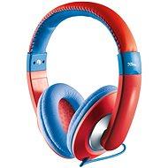 Trust Sonin Kids Headphone piros - Fülhallgató gyermekek számára