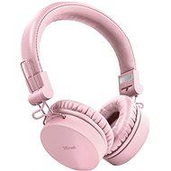 Trust Tones Wireless Headphones rózsaszín - Vezeték nélküli fül-/fejhallgató