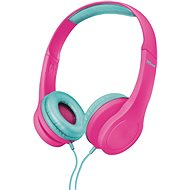 Trust Bino Kids Headphones pink - Fej-/Fülhallgató