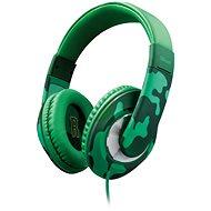 Trust Sonin Kids Headphone jungle camo - Fej-/Fülhallgató