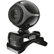 Trust Exis Webcam, fekete-ezüst - Webkamera