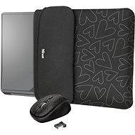 TRUST YVO MOUSE & SLEEVE F/15.6 – BLACK - Laptop tok