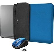 TRUST YVO MOUSE & SLEEVE F/15.6 – BLUE - Laptop tok