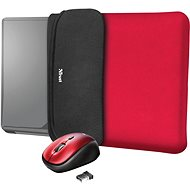 TRUST YVO MOUSE & SLEEVE F/15.6 – RED - Laptop tok