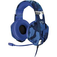 Trust GXT 322B Carus Gaming Headset for PS4 - camo blue - Gamer fejhallgató