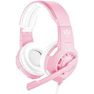 Trust GXT 310P Radius Gaming Headset - pink - Gamer fejhallgató