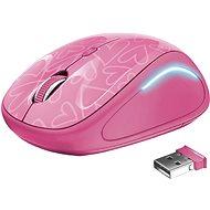 Trust Yvi FX Wireless Mouse rózsaszín - Egér