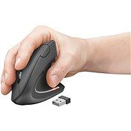 Egér Trust Verto Wireless Ergonomic Mouse