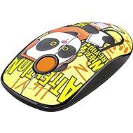 TRUST Sketch Wireless Silent Click Mouse - panda - Egér