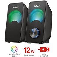 Trust Arys Compact RGB 2.0 Speaker Set - Hangfal