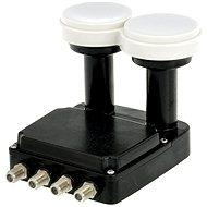 Inverto Quad Monoblock, 2x átalakító 0,2 dBi, 4x F csatlakozó - Konvektor
