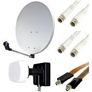 TV Set, műholdvevő - 2 műholdak, 1 vevő - Parabola