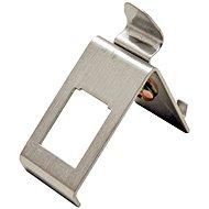 Roline tartó 1x keystone számára, DIN sínre, fém