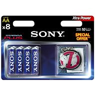 Sony Stamina Plus, AA, 8db - Akkumulátor