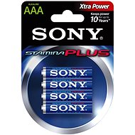 Sony STAMINA PLUS, LR03/AAA 1.5V, 4 db - Akkumulátor