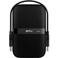 Silicon Power Armor A60 2TB tiszta fekete színű - Külső merevlemez
