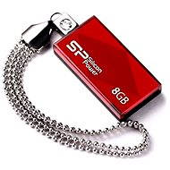 Silicon Power Touch 810 Red 8GB - Pendrive