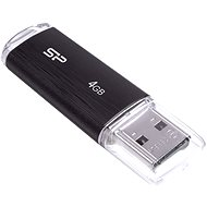 Silicon Power Ultima U02 Black 4 GB - Pendrive