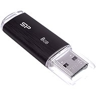 Silicon Power Ultima U02 Black 8GB - Pendrive