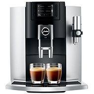 Jura E8 Platin automata kávéfőző 1450W 15bar fekete-ezüst - Automata kávéfőző