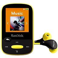 SanDisk Sansa Clip Sports 8GB sárga - Mp3 lejátszó