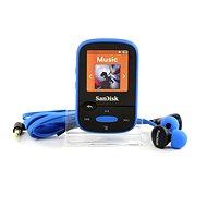 SanDisk Sansa Clip Sports 8GB MP3 lejátszó kék - Mp3 lejátszó