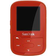 SanDisk Sansa Clip Sports Plus 16GB piros - Mp3 lejátszó