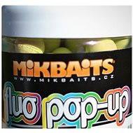 Mikbaits Fluo Pop-Up bojli érett banán 14 mm 250 ml - Úszó bojlik