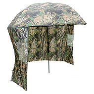 NGT Camo Brolly with Side Sheet 2,2m - Horgászernyő