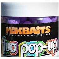 Mikbaits Fluo Pop-Up bojli fűszeres szilva 18 mm 250 ml - Úszó bojlik