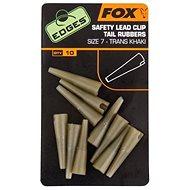 FOX Edges Slip Lead Clip Tail Khaki méret 10, 10db - Gubancgátló
