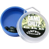 Carp´R´Us Camo Shotz 0,90g Camo Brown 15g - Pellet