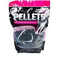 LK Baits Salt Black Hallibut Pellets 12mm 1kg - Pelletek