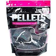 LK Baits Salt Black Hallibut Pellets 8 mm 1 kg - Pelletek