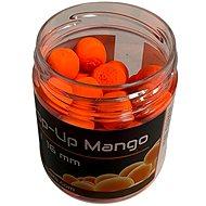 Mastodont Baits - Fluo Pop-Up Mango 16mm 200ml Narancsszínű - Úszó bojlik