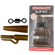 Starbaits Clip Kit készlet barna 10db
