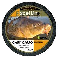 Sema Vlasec Carp Camo Green 0,20mm 5,85kg 1200m - Horgászzsinór