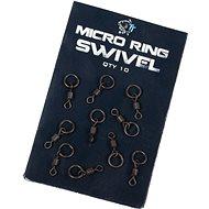 Nash Micro Ring Swivel 10 db - Forgókapocs