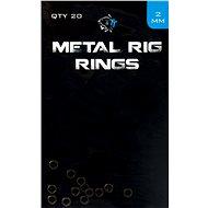 Nash Metal Rig gyűrűk 2,0 mm 20 db - Gyűrű