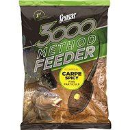Sensas 3000 Method Feeder Carp Spicy 1 kg - Etetőanyag mix